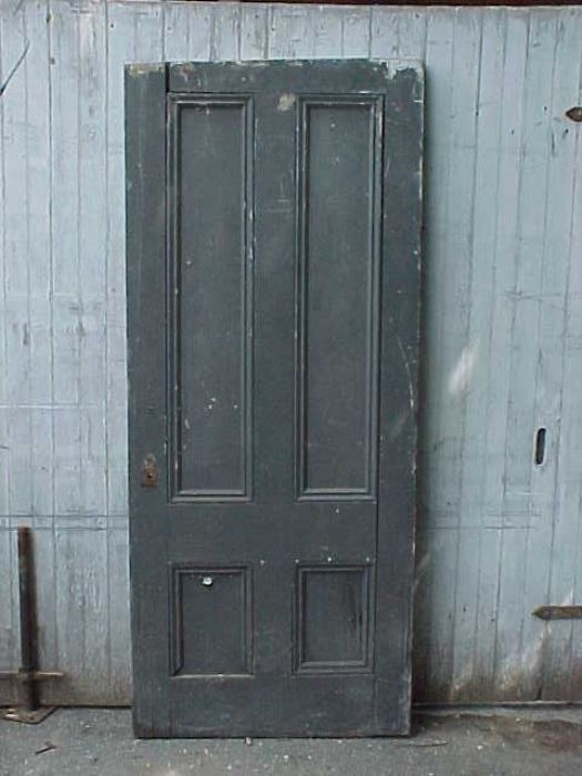 10 - Four-panel Antique Door - Old House Parts Company: Architectural Salvage, Antique Windows And